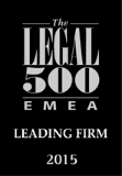 THE LEGAL 500 2015