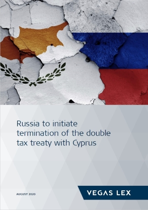 Russia to initiate termination of double tax treaty with Cyprus